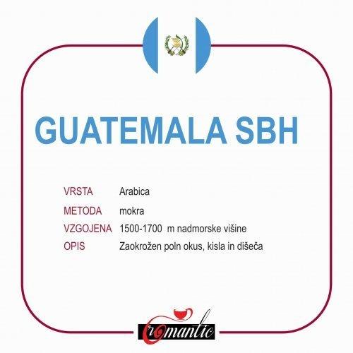 KAVA SPECIALTY GUATEMALA 250G ZRNO