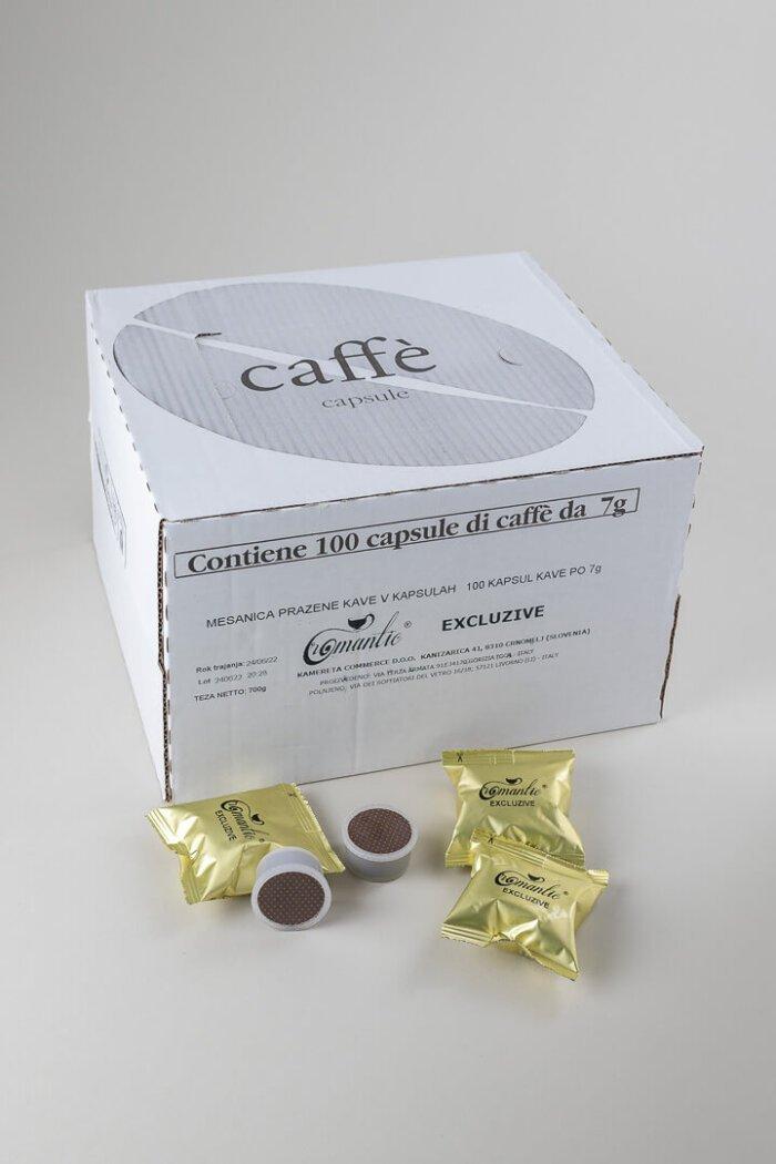 KAVNE KAPSULE EXCLUZIVE kompatibilne z aparati Lavazza ® Espresso point ®