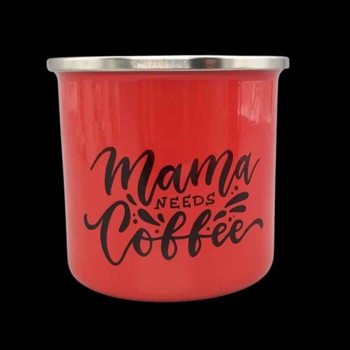 Lonček mama needs coffee