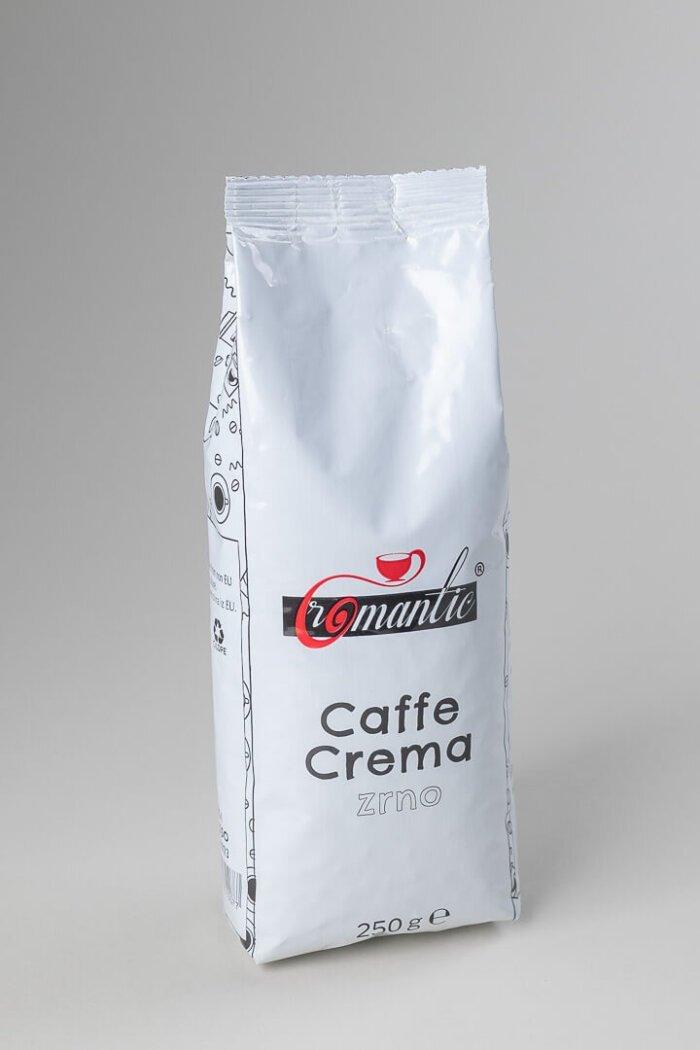Kava Romantic caffe crema v zrnju
