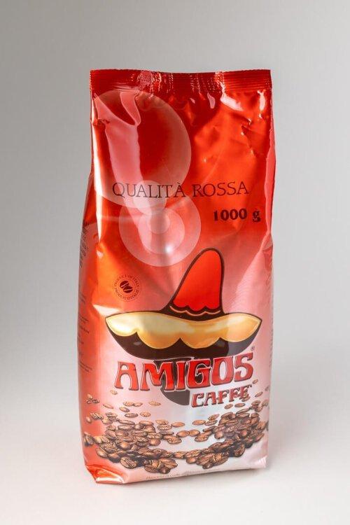 Kava espresso Amigos qualita rossa