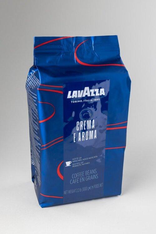 Kava espresso Lavazza crema e aroma blue