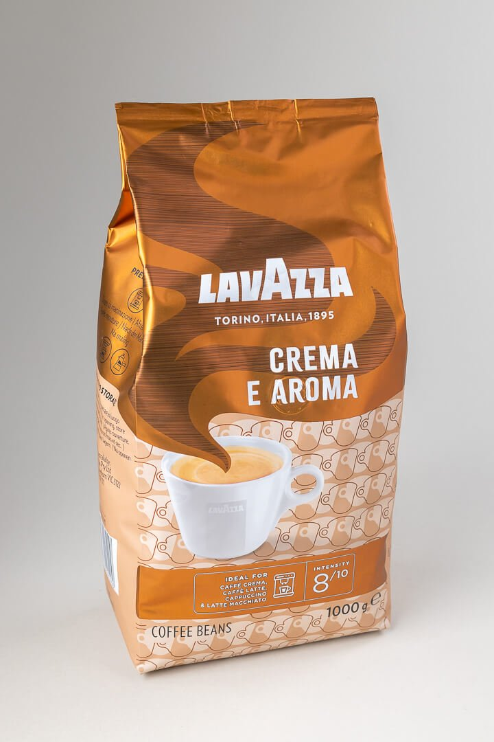 Kava espresso Lavazza crema e aroma brown