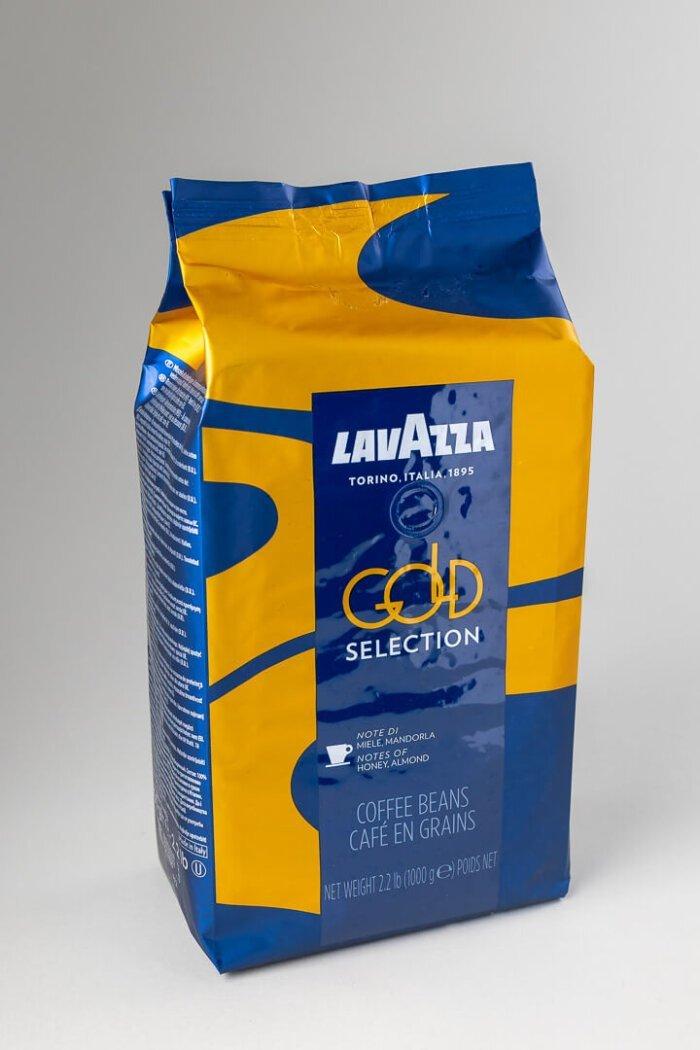 Kava espresso Lavazza gold selection