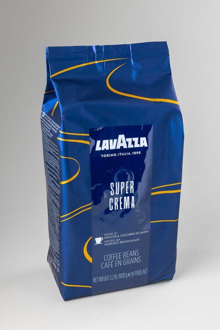 Kava espresso Lavazza super crema