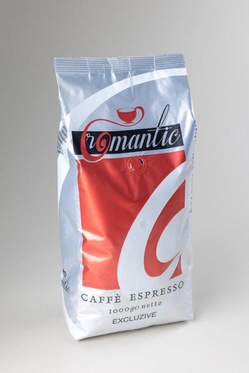 Kava espresso Romantic Excluzive 1 kg