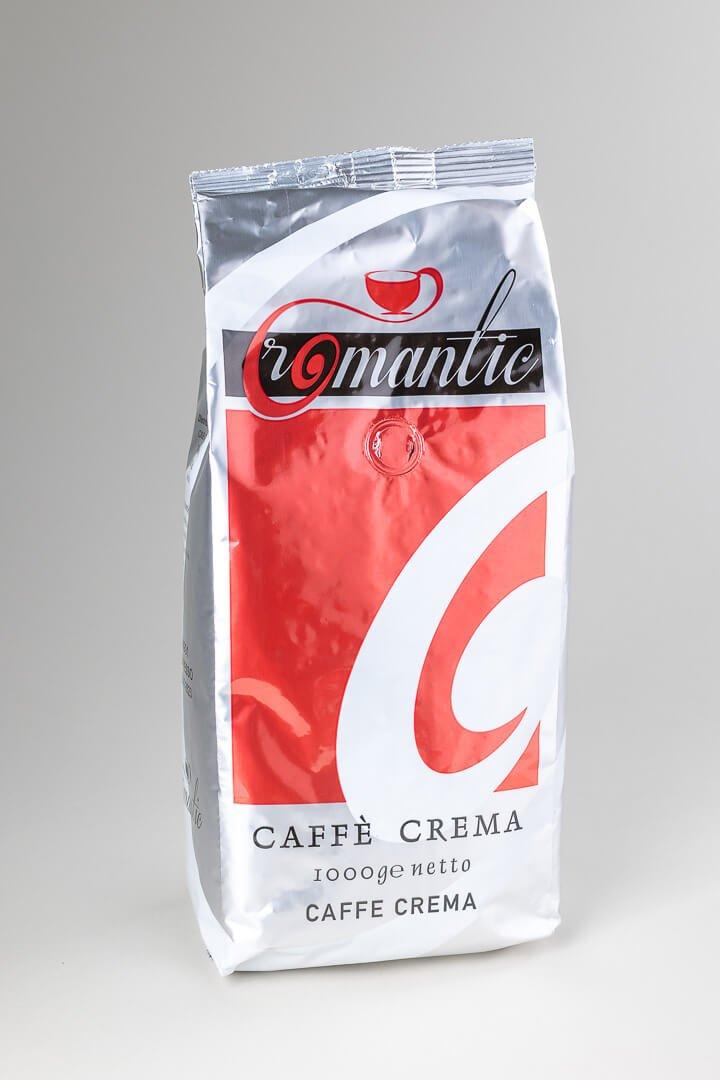 Kava espresso Romantic caffe crema
