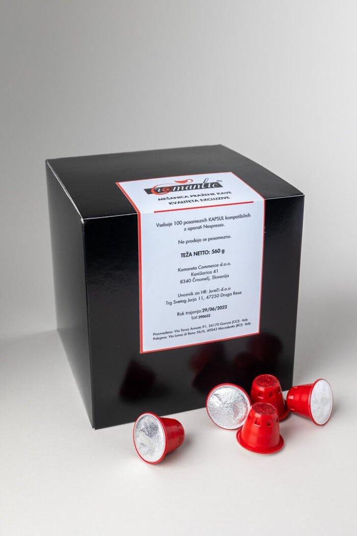 Kavne kapsule Romantic Excluzive kompatibilne z Nespresso aparati