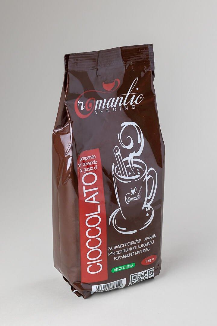 Romantic čokolada v prahu za samopostrežne aparate 1 kg