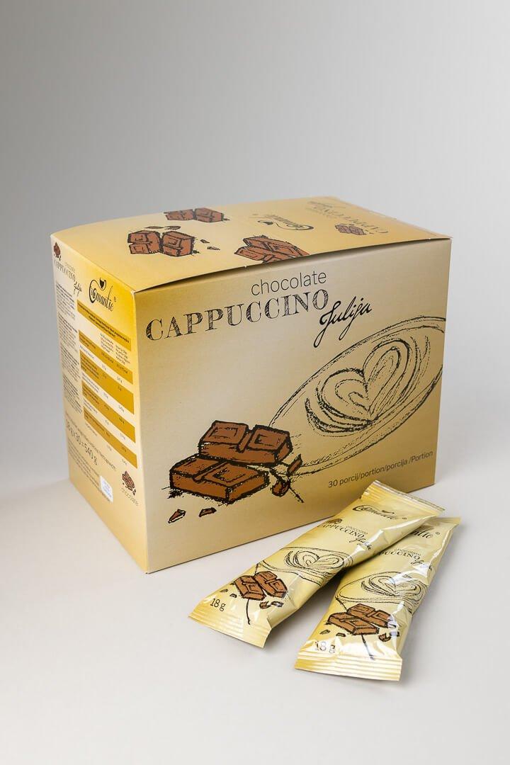 Romantic instant cappucino čokolada