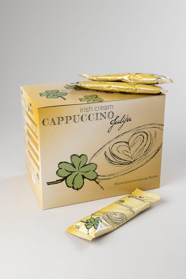 Romantic instant cappucino irish cream