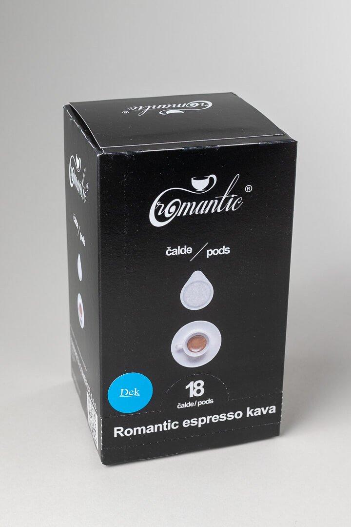 Romantic kava brez kofeina v čaldah