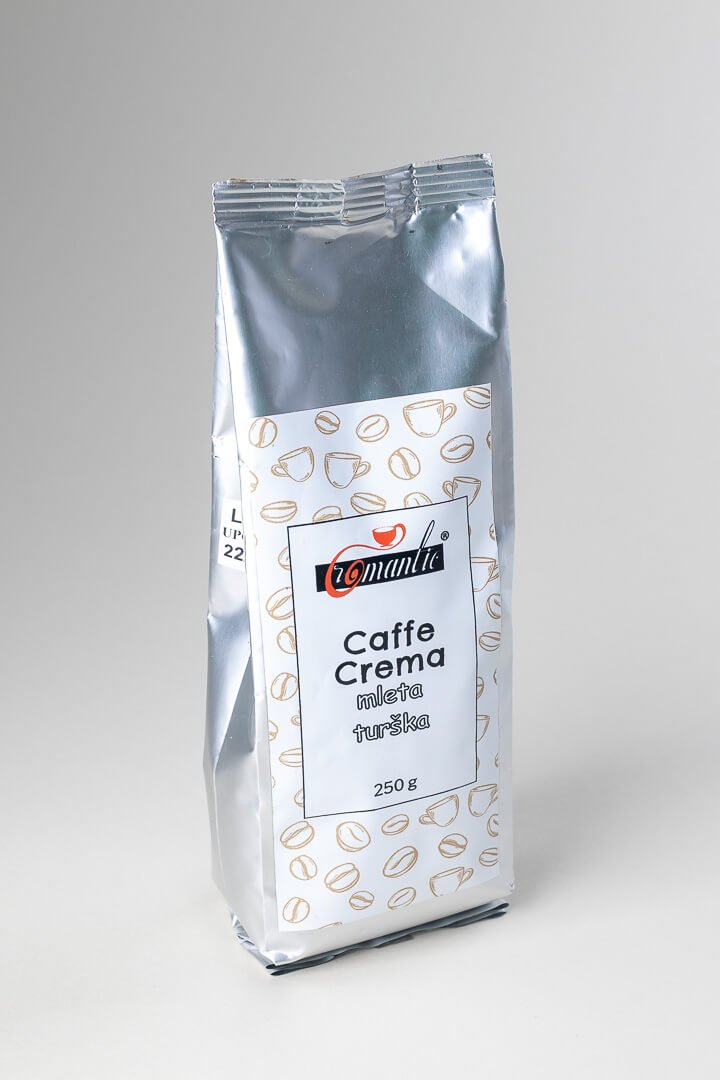 Romantic kava caffe crema mleta za turško 250g
