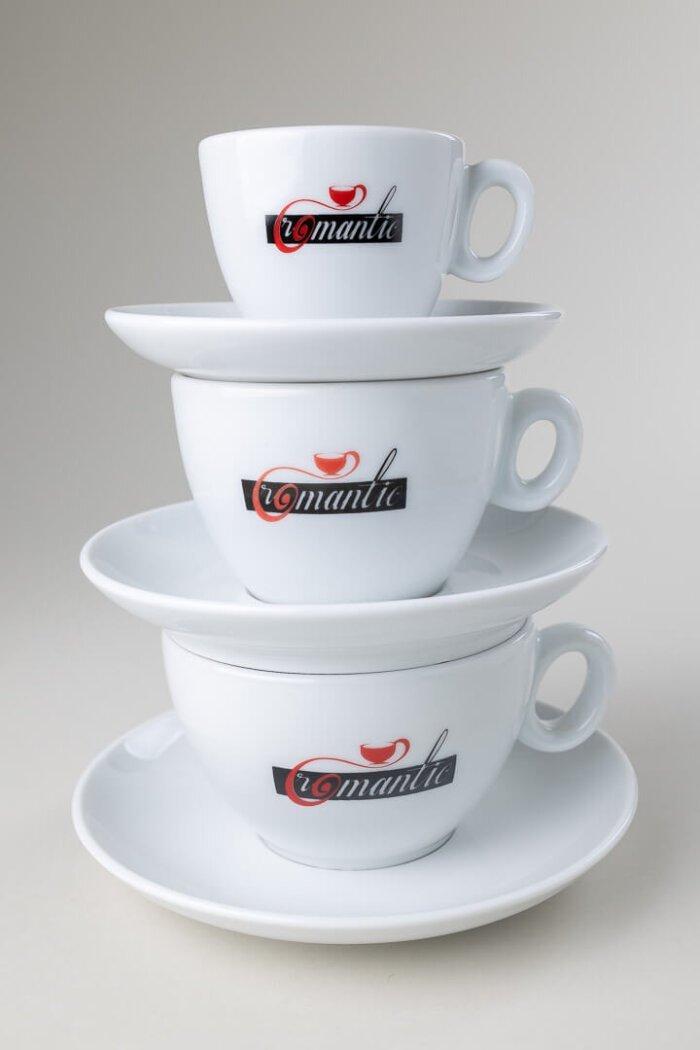Romantic skodelice za kavo