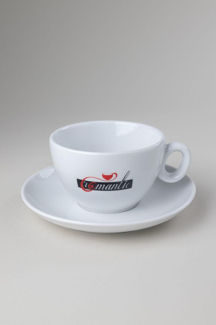 Skodelica Romantic bela kava